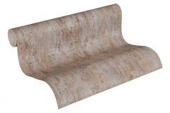 36493-1 cikkszámú tapéta.Kőhatású-kőmintás,különleges felületű,metál-fényes,barna,szürke,súrolható,illesztés mentes,vlies tapéta