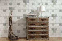 36855-1 cikkszámú tapéta.Konyha-fürdőszobai,kőhatású-kőmintás,különleges felületű,fehér,fekete,szürke,súrolható,vlies tapéta