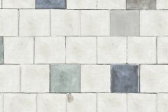 36855-2 cikkszámú tapéta.Konyha-fürdőszobai,kőhatású-kőmintás,különleges felületű,fehér,kék,szürke,zöld,súrolható,vlies tapéta