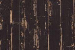 36856-2 cikkszámú tapéta.Fa hatású-fa mintás,különleges felületű,barna,fekete,súrolható,illesztés mentes,vlies tapéta
