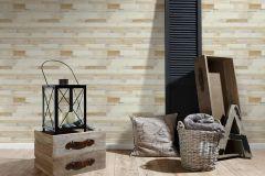 36857-2 cikkszámú tapéta.Fa hatású-fa mintás,különleges felületű,bézs-drapp,fehér,súrolható,vlies tapéta
