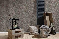 36872-1 cikkszámú tapéta.Fa hatású-fa mintás,különleges felületű,barna,bézs-drapp,kék,lila,súrolható,illesztés mentes,vlies tapéta