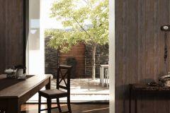 36893-2 cikkszámú tapéta.Fa hatású-fa mintás,különleges felületű,barna,súrolható,illesztés mentes,vlies tapéta