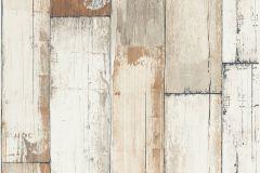 36894-1 cikkszámú tapéta.Fa hatású-fa mintás,különleges felületű,barna,bézs-drapp,szürke,súrolható,illesztés mentes,vlies tapéta