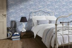 5604-14 cikkszámú tapéta.Különleges felületű,természeti mintás,fehér,kék,lila,lemosható,papír tapéta