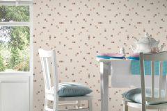 6077-20 cikkszámú tapéta.Konyha-fürdőszobai,kőhatású-kőmintás,különleges felületű,barna,bézs-drapp,lemosható,papír tapéta