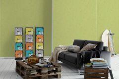 6888-66 cikkszámú tapéta.Egyszínű,különleges felületű,zöld,gyengén mosható,illesztés mentes,papír tapéta