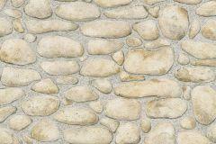 8345-15 cikkszámú tapéta.Konyha-fürdőszobai,kőhatású-kőmintás,különleges felületű,barna,bézs-drapp,gyengén mosható,papír tapéta