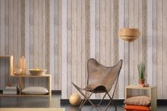 8999-10 cikkszámú tapéta.Fa hatású-fa mintás,különleges felületű,barna,bézs-drapp,szürke,gyengén mosható,illesztés mentes,papír tapéta