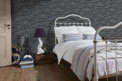 95470-1 cikkszámú tapéta.Kőhatású-kőmintás,különleges felületű,fekete,szürke,gyengén mosható,papír tapéta