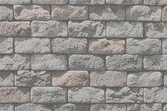 95834-1 cikkszámú tapéta.Konyha-fürdőszobai,kőhatású-kőmintás,különleges felületű,bézs-drapp,szürke,gyengén mosható,papír tapéta