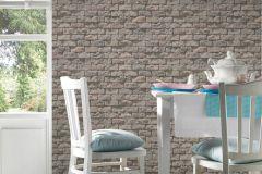 95834-2 cikkszámú tapéta.Konyha-fürdőszobai,kőhatású-kőmintás,különleges felületű,barna,bézs-drapp,gyengén mosható,papír tapéta
