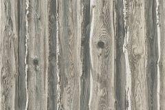 95837-2 cikkszámú tapéta.Fa hatású-fa mintás,különleges felületű,barna,szürke,gyengén mosható,papír tapéta
