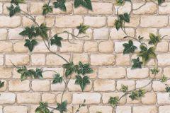9804-34 cikkszámú tapéta.Konyha-fürdőszobai,kőhatású-kőmintás,különleges felületű,természeti mintás,barna,bézs-drapp,zöld,gyengén mosható,papír tapéta