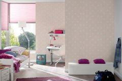 36294-4 cikkszámú tapéta.Gyerek,különleges motívumos,fehér,pink-rózsaszín,gyengén mosható,vlies tapéta