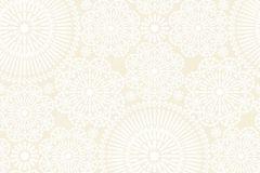36295-2 cikkszámú tapéta.Gyerek,különleges motívumos,virágmintás,bézs-drapp,fehér,gyengén mosható,vlies tapéta