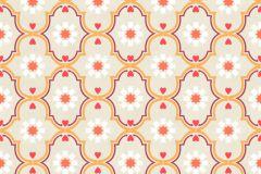 36297-2 cikkszámú tapéta.Gyerek,különleges motívumos,virágmintás,bézs-drapp,lila,narancs-terrakotta,piros-bordó,gyengén mosható,vlies tapéta