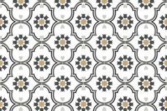 36297-4 cikkszámú tapéta.Gyerek,különleges motívumos,virágmintás,barna,fehér,fekete,szürke,gyengén mosható,vlies tapéta