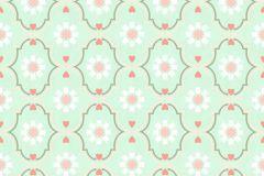36297-6 cikkszámú tapéta.Gyerek,különleges motívumos,virágmintás,narancs-terrakotta,türkiz,zöld,fehér,gyengén mosható,vlies tapéta