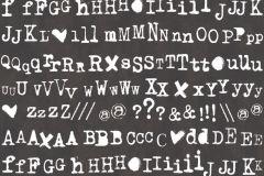 36298-1 cikkszámú tapéta.Feliratos-számos,gyerek,fehér,fekete,gyengén mosható,vlies tapéta