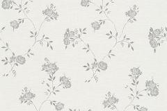 30522-4 cikkszámú tapéta.Természeti mintás,virágmintás,bézs-drapp,fehér,szürke,súrolható,vlies tapéta