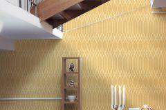 36632-3 cikkszámú tapéta.Absztrakt,különleges felületű,sárga,vajszín,lemosható,vlies tapéta