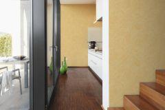 36633-3 cikkszámú tapéta.Absztrakt,különleges felületű,természeti mintás,sárga,vajszín,lemosható,vlies tapéta