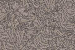 36633-4 cikkszámú tapéta.Absztrakt,különleges felületű,rajzolt,természeti mintás,barna,lemosható,vlies tapéta