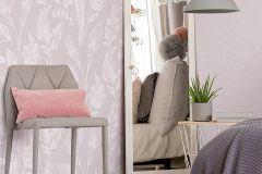 36636-1 cikkszámú tapéta.Különleges felületű,rajzolt,természeti mintás,pink-rózsaszín,vajszín,lemosható,vlies tapéta