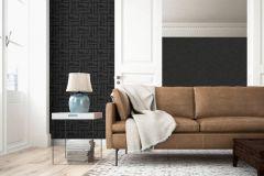 36637-1 cikkszámú tapéta.Absztrakt,különleges felületű,barna,szürke,lemosható,vlies tapéta