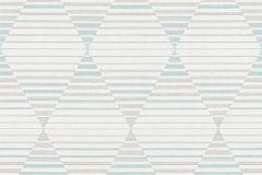 36757-2 cikkszámú tapéta.Absztrakt,geometriai mintás,különleges felületű,bézs-drapp,fehér,kék,lemosható,vlies tapéta