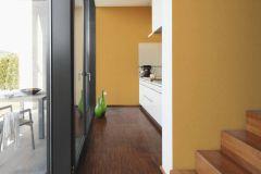 36761-8 cikkszámú tapéta.Egyszínű,különleges felületű,sárga,lemosható,illesztés mentes,vlies tapéta