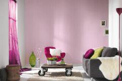 35565-1 cikkszámú tapéta.Csíkos,gyerek,fehér,pink-rózsaszín,gyengén mosható,illesztés mentes,vlies tapéta