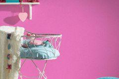 35566-8 cikkszámú tapéta.Egyszínű,gyerek,különleges felületű,pink-rózsaszín,gyengén mosható,illesztés mentes,vlies tapéta