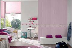 35567-1 cikkszámú tapéta.állatok,gyerek,rajzolt,pink-rózsaszín,vlies bordűr