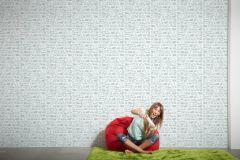 35815-1 cikkszámú tapéta.Gyerek,különleges felületű,különleges motívumos,rajzolt,fehér,szürke,gyengén mosható,vlies tapéta