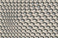 32707-3 cikkszámú tapéta.3d hatású,geometriai mintás,különleges motívumos,barna,szürke,súrolható,vlies tapéta