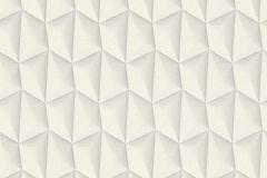 32708-1 cikkszámú tapéta.3d hatású,geometriai mintás,különleges motívumos,fehér,szürke,súrolható,vlies tapéta