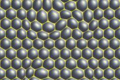 32720-1 cikkszámú tapéta.3d hatású,geometriai mintás,különleges motívumos,fehér,sárga,szürke,súrolható,vlies tapéta