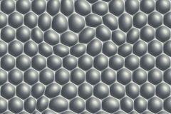32720-3 cikkszámú tapéta.3d hatású,geometriai mintás,különleges motívumos,fehér,szürke,súrolható,vlies tapéta