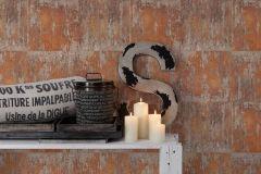 36118-2 cikkszámú tapéta.Absztrakt,fémhatású - indusztriális,fotórealisztikus,különleges motívumos,bronz,narancs-terrakotta,súrolható,vlies tapéta