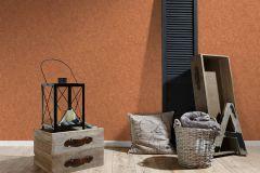 36207-9 cikkszámú tapéta.Kőhatású-kőmintás,különleges felületű,narancs-terrakotta,súrolható,illesztés mentes,vlies tapéta