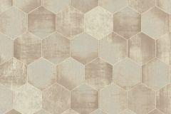 36330-1 cikkszámú tapéta.Absztrakt,fémhatású - indusztriális,geometriai mintás,bézs-drapp,vajszín,súrolható,vlies tapéta