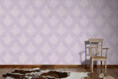 95372-2 cikkszámú tapéta.Barokk-klasszikus,különleges motívumos,lila,lemosható,vlies tapéta