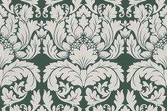 30396-4 cikkszámú tapéta.Barokk-klasszikus,fehér,zöld,lemosható,vlies tapéta