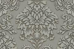 36898-1 cikkszámú tapéta.Barokk-klasszikus,csillámos,különleges felületű,szürke,zöld,lemosható,vlies tapéta