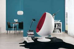 36899-6 cikkszámú tapéta.Egyszínű,különleges felületű,kék,lemosható,illesztés mentes,vlies tapéta