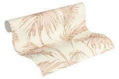 36919-3 cikkszámú tapéta.Különleges felületű,természeti mintás,arany,fehér,súrolható,vlies tapéta