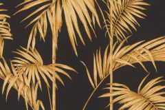 36919-5 cikkszámú tapéta.Különleges felületű,természeti mintás,arany,fekete,súrolható,vlies tapéta