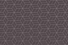 36920-1 cikkszámú tapéta.Csillámos,geometriai mintás,különleges felületű,barna,ezüst,lemosható,vlies tapéta